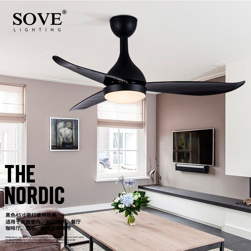 Aliexpress.com : Buy SOVE Modern LED Ceiling Fans With ...