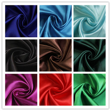 Keythemelife 1 Yard 150*97cm Polyester Satin Fabric DIY Wedding for Sewing and Party Decoration DA