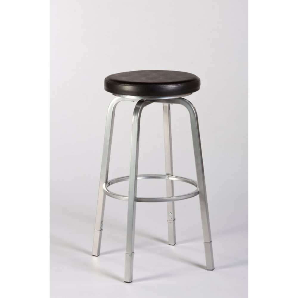 5163-830 Neeman Backless Counter/Bar Stool with Nested Leg striped backless wide leg jumpsuit
