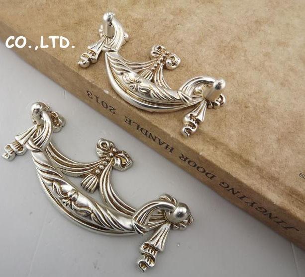 82mm Free shipping zinc alloy cupboard  furniture handle