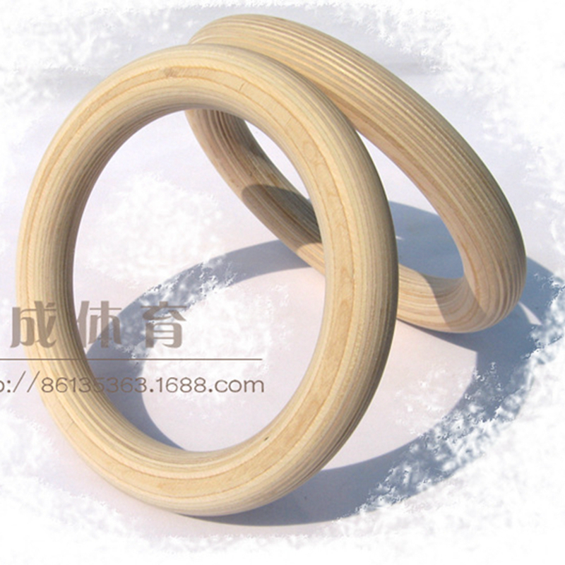 Professional Birch Wood Gymnastic Rings Gym Rings with Adjustable Long Buckles Straps Workout For Home Gym & Cross Fitne procircle 32cm wood gymnastic rings workout for home gym