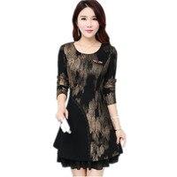 Spring Fashion New Modern Vintage Printed Elegant Dress Ethnic Style Luxury Women S Floral Print Flowy
