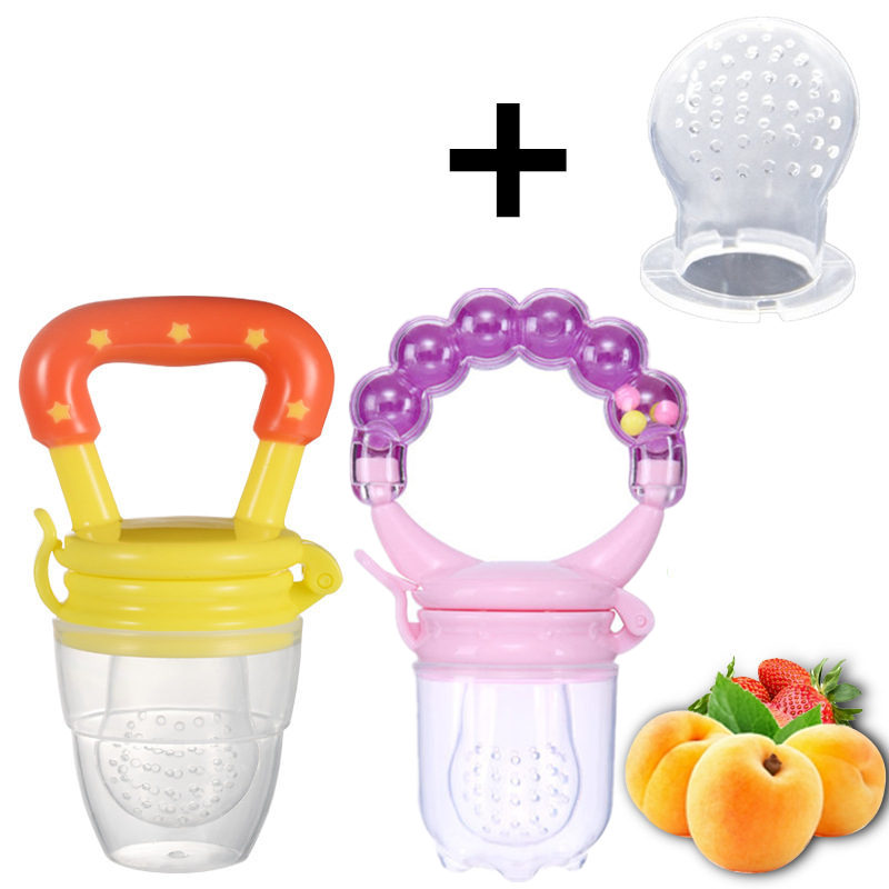 Food Nibbler Baby Pacifiers Nibbler Nipple Pacifiers For Baby Fruit Feeder Nipples Feeding Safe Nipple Pacifier