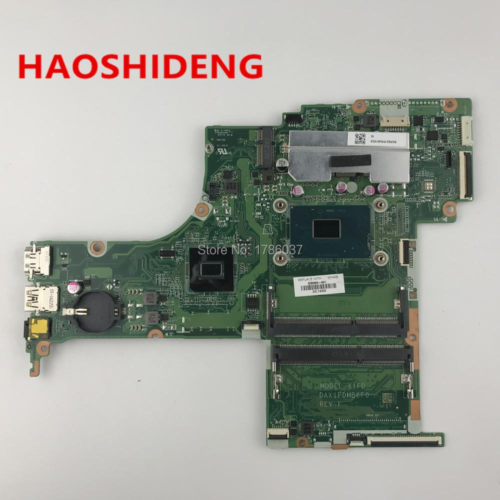 835869-601 DAX1FDMB6F0 For HP ENVY Notebook 17T-S 17T-S100 Laptop Motherboard with i7-6700HQ HM170,All functions fully Tested!