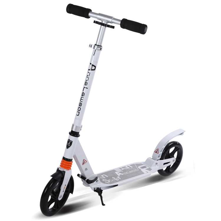 New Ancheer Scooter Sturdy Lightweight Height 2-Wheel Kick Scooters Adjustable Aluminum  ...