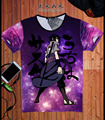 New Arrive Colorful Uzumaki Naruto 3D T shirt Summer Men/Women Graffiti Style Naruto Short Sleeve T-shirts Fashion Cool Tee Tops
