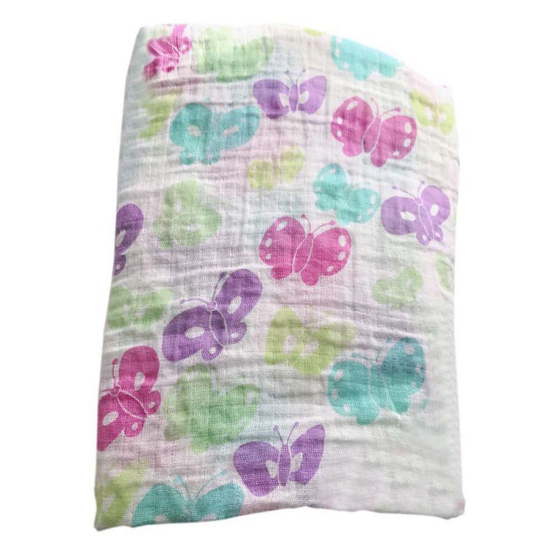 2017 Cotton Baby Swaddles For Newborn Baby Blankets 120 * 120 Double Baby Gauze Blanket Covered Towel Cover Blanket 11 Styles J2