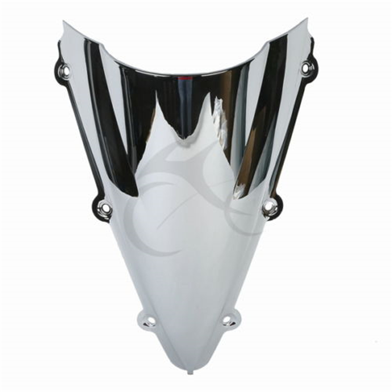 Fast Pro Motorcycle Black Windscreen Windshield Screen ABS Shield for Yamaha YZF R1 2004-2006 Motorbike