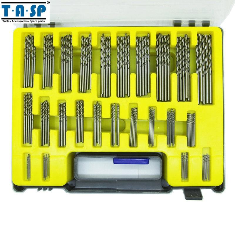 Set di punte per trapano micro PCB HSS 150PC TASP Kit di perforazione - Punta da trapano - Fotografia 2