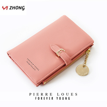 YIZHONG Zipper Clutch Wallets and Purses Women Card Holder Phone Coin Pocket Long Purse Fashion Female Leather Wallet Carteira