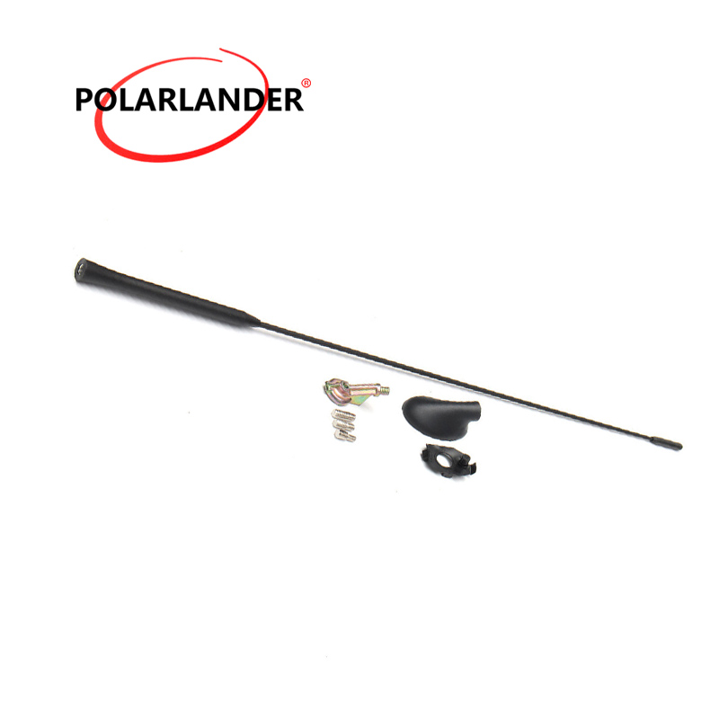 Antenna For F//ord Focus 2000-2007 Mast Black with Base Kit Auto Aerial Car Roof