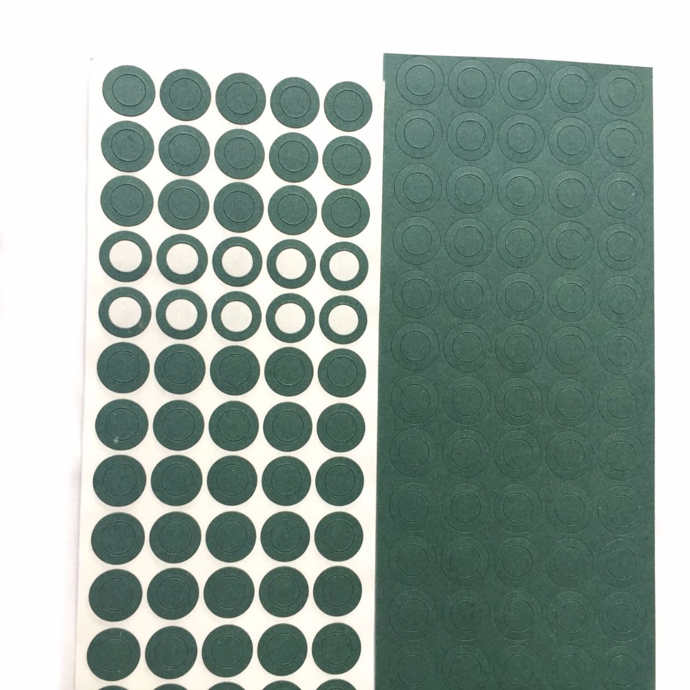 1000 stücke 1 s 18650 Li ionen Batterie Isolierung Dichtung Gerste Papier Batterie Pack Zelle Isolierende Kleber Patch Elektrode Isoliert pads