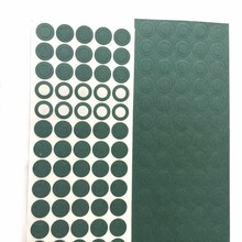1000pcs 1S 18650 Li ion Battery Insulation Gasket Barley Paper Battery Pack Cell Insulating Glue Patch Electrode Insulated Pads