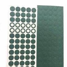 1000pcs 1S 18650 guarnizione isolante batteria agli ioni di litio orzo carta batteria pacco batterie colla isolante Patch elettrodi cuscinetti isolati