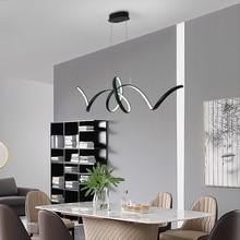 New Creative LED Chandeliers Aluminum Nordic lamp lustre led modern chandelier For Living bed Diningroom led chandelier lighting вытяжка со стеклом maunfeld berta 90 нержавейка прозрачное стекло