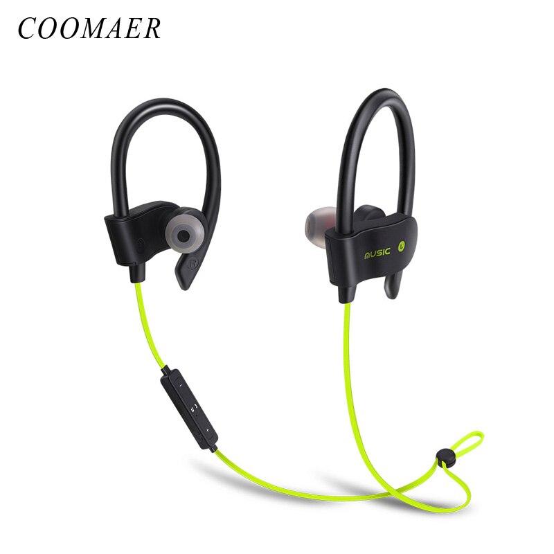 Mode Bluetooth CSR Laufende In-ohr Kopfhörer Stereo Bass Sport Drahtlose Kopfhörer Mit Mikrofon Für Handy Headset