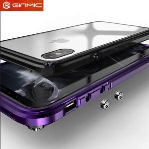 Image 5 - Cadre en métal pour iPhone 11 Pro Max étui Silm clair en plastique dur couverture darmure arrière pour iPhone XS Max XR accessoires Ultra minces