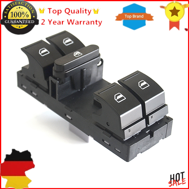 AP01 For VW For Caddy III Golf V VI Jetta III Passat CC Tiguan Touran Master Power Window Switch 1K4959857 1K4959857B New|front|front vw|  - title=