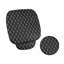 Universal No Backrest Free Tied Seat Cushion 50*50CM - Front Row Leaflet Car Four Seasons
