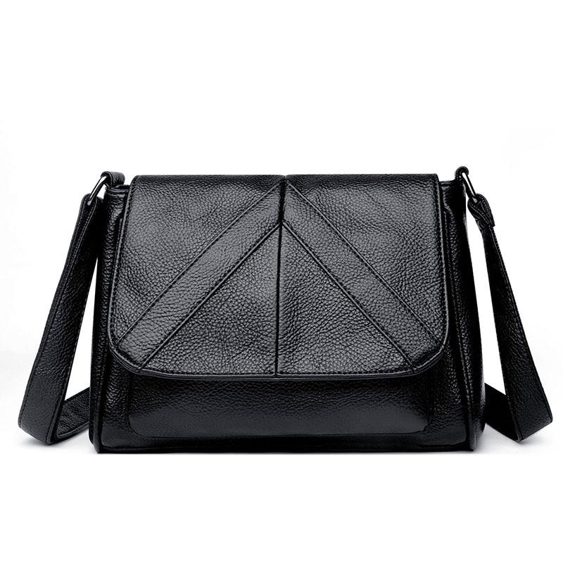 Casual Designer Women Messenger Bags Female Soft PU Leather Crossbody Shoulder Bag High Quality Fashion Women's Bags Handbags