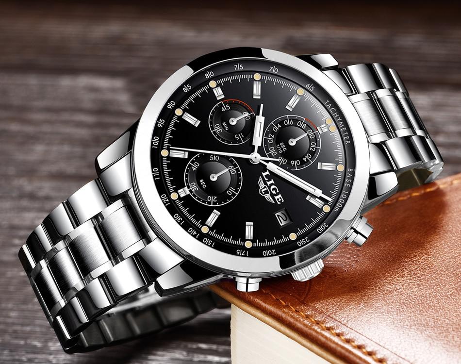 HTB14w3Sob I8KJjy1Xaq6zsxpXaj - LIGE Mens Watches Top Brand Luxury Business Quartz Watch stainless steel Strap Casual Waterproof Sport Watch Relogio Masculino