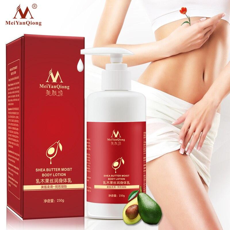 Super manteca de karité loción para el cuerpo húmedo cuerpo cremas cuidado de la piel hidratante mejorar la piel seca y áspera Whiteing Ant- envejecimiento crema