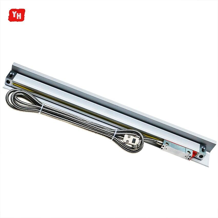 Fabricante de Alta Precisão Linear Escalas De Vidro/Codificador/Sensor 5u Dimensões Comprimento 200 300 400 500 600 700 800 900 1000 milímetros