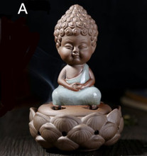 Free shipping ceramic furnace aloes smoked furnace  The tathagata crafts Aroma stove Buddhist temple incense dish room supplies