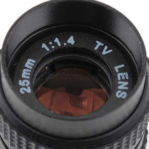 Image 5 - 25mm f1.4 CCTV C dağı Lens + C Mikro M4/3 NEX/N1/Pentax Q /Fuji/EF M M2 Adaptör Takımı Için Pentax Kamera + Lens Kapağı