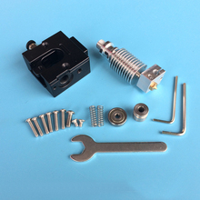 3D Printer Accessories bulldog Extruder for reprap compatible with E3D V6 J-head extruder All Metal for 1.75/3.0mm filameter