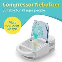 Health Care Home Inhaler FDA Compressor Nebulizer Children Adult Allergy Relief Respiratory Medicine Aerosol Medication Therapy respiratory high dependency care units