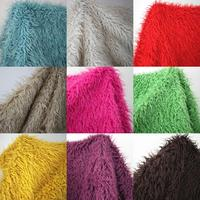 Good quality 5cm pile fabric felt,13 color available patchwork fabric for sewing,Cotton flannel material fur ,100*150cm