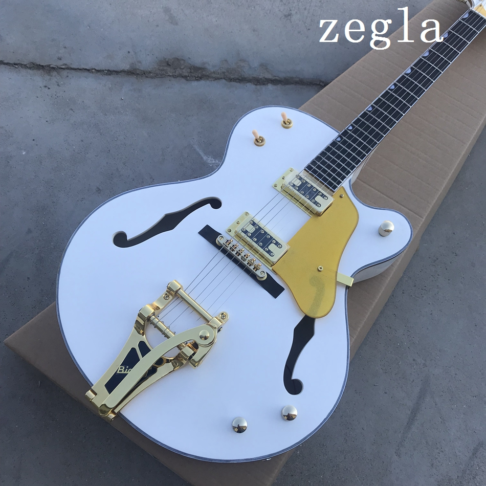 China's OEMg1retsch Falcon semi hollow electric guitar and Biggs are free delivery than tremolo gold hardware.gihaiy