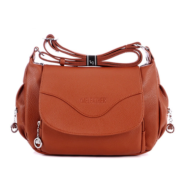 2016 Hot sell fashion women messenger bag casual cross by bag vintage business brief women handbag leather quality hobo bag