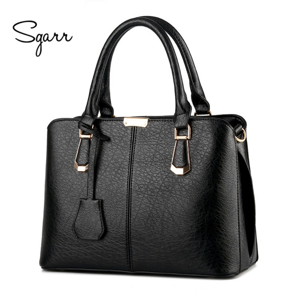 SGARR 2017 New Women's handbag stone pattern with Zipper bag messenger bags hot-