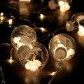 Coversage 3 М Занавес Фея Огни Строки Guirlande Lumineuse De Led Navidad Свадьбы Открытый Праздник Рождество Декоративные Гирлянды