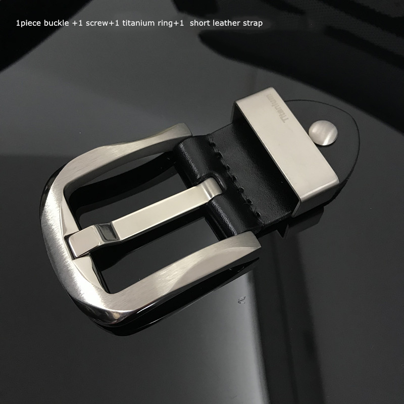 Wholesale ANTI-ALLERGY TITANIUM BELT BUCKLE