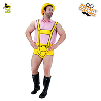 Funnny Mens Oktoberfest Beer Costume for Carnival Party Adult comical Beer Suit Halloween Christmas Fanacy Dress