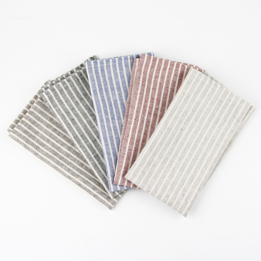30x40cm cotton linen napkins placemat heat insulation mat dining table mat comfortable napkin fabric table placemats