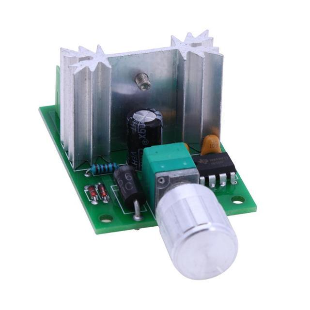 Высокая Мощность 6A 12 В ШИМ нет полярности постоянного тока Скорость регулятор плате контроллера