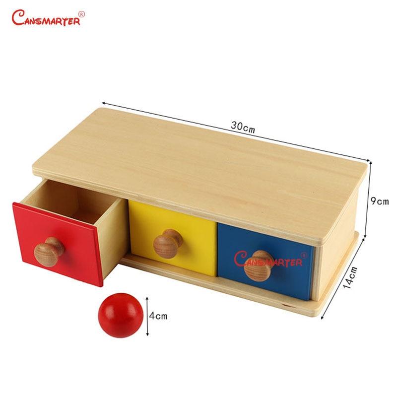 Montessori jeux bébé jouets pour enfants éducatifs en bois jouets boîte produits en bois enfants sensoriels jouets nourrissons boîtes - 3