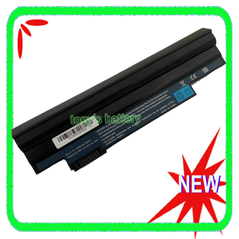 6Cell <font><b>Battery</b></font> for <font><b>Acer</b></font> <font><b>Aspire</b></font> <font><b>One</b></font> 522 <font><b>722</b></font> D255 AOD255 AOD260 D255E D257 D257E D260 AL10A31 AL10B31 AL10G31 image