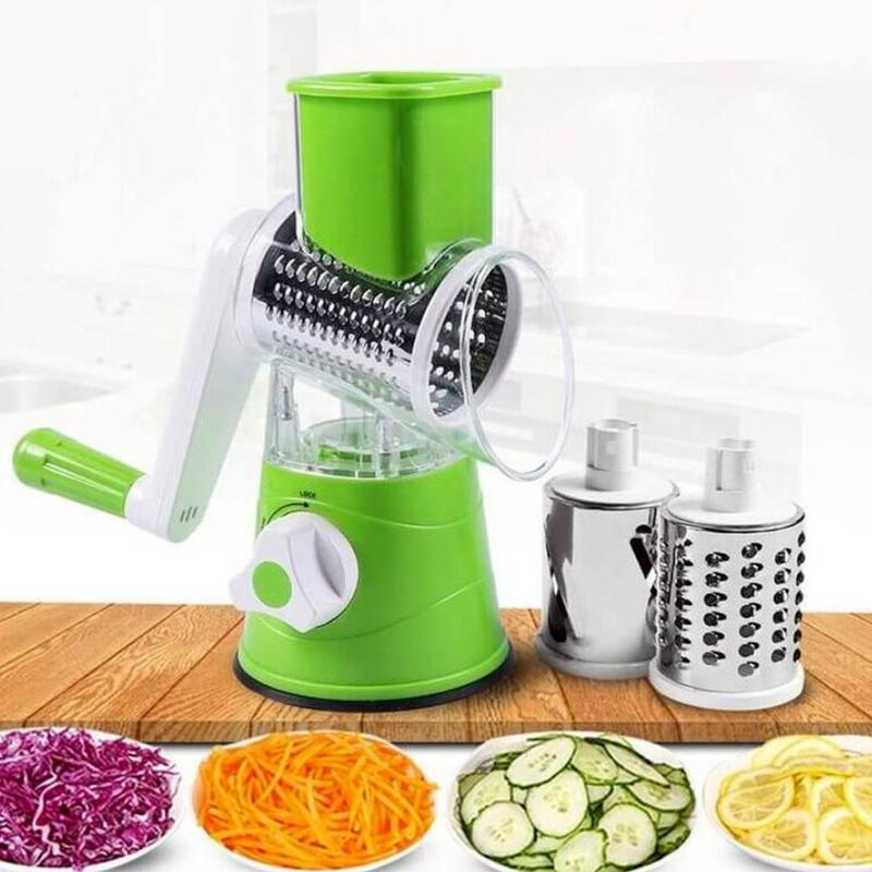High Quality Multi function Shredder Hand Grater Roller Rotary Grater Broken Cheese Tool Slicer Chopper Gadgets Accessoires
