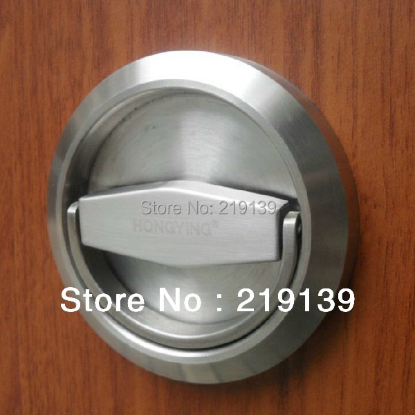 Cabinet Recessed Cup Lock Door Handle