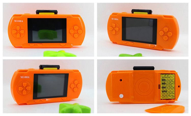 Handheld Children Student GamePad Player 4.3 inch Colorful Display Game Console 8