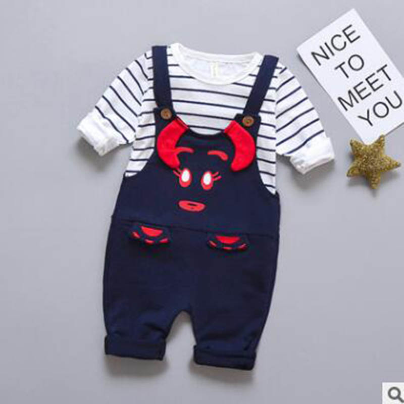 2018 baby Summer boy Clothing Sets kids Boys clothes Sets toddle sport suits Kids tops + ...