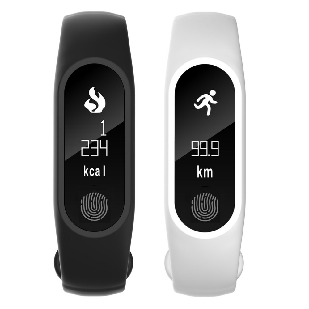 M2 Plus 0.86 Inch Heart Rate Blood Pressure Wristband Smart Pedometer Band Call SMS Display Bracelet For iOS Android