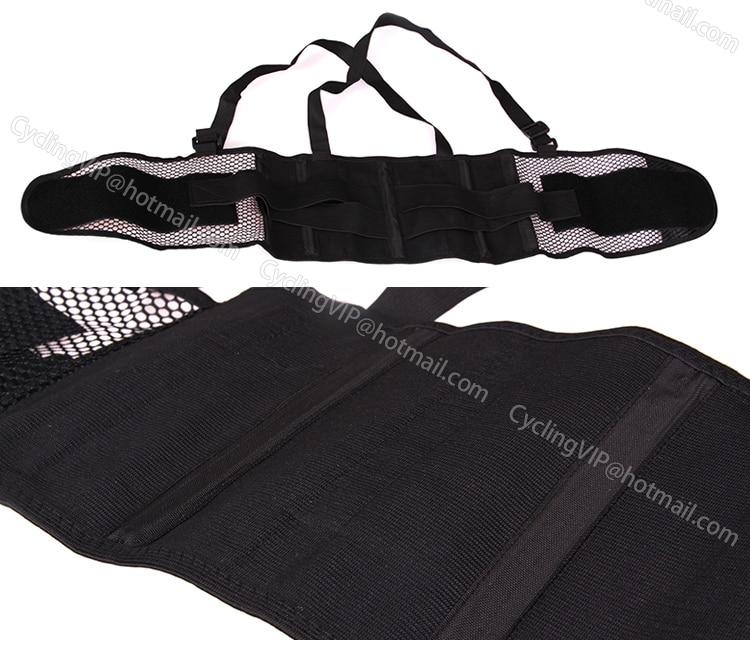 2014 Beliebte atmungsaktive Taillenbandage Linderung Rückenschmerzen - Sportbekleidung und Accessoires - Foto 3
