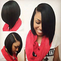 Short Black Bob Hairstyle African American Short Wigs For Black Women Black Bob Wig Synthetic Heat Resistant Wig Women's Wig