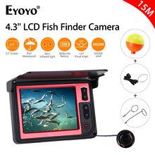 Eyoyo LQ-3505D 3.5″LCD 15M Infrared DVR Underwater Fishing Video Fish Finder Camera DVR Recorder 960×240 135degree + 8GB TF Card